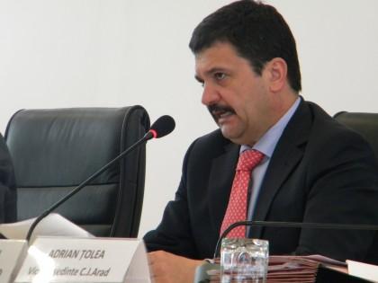 SURSE/ Ioţcu va propune SCHIMBAREA lui Adrian Ţolea din funcţia de vicepreşedinte al CJA