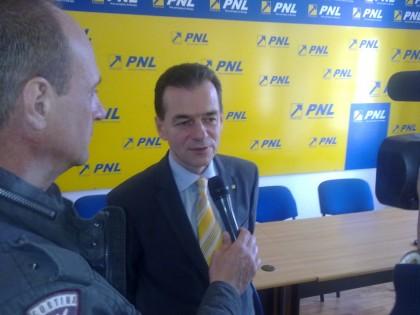 Ludovic Orban vine la Arad! Care este SCOPUL vizitei