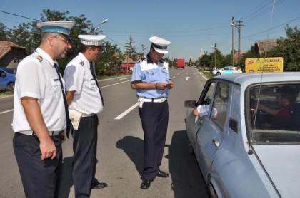 """Acţiuni în """"oglindă"""" ale poliţiştilor arădeni şi maghiari"""
