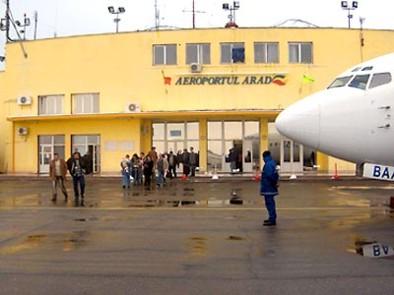 Zboruri săptămânale pe ruta Arad – Bucureşti, operate de Tarom