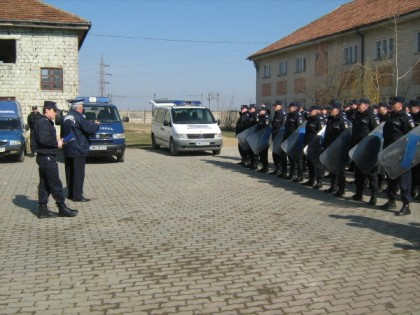Ceremonial militar dedicat aniversării Zilei Jandarmeriei Române, la Arad