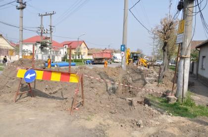 Au început lucrările de modernizare a străzilor din cartierul Aradul Nou