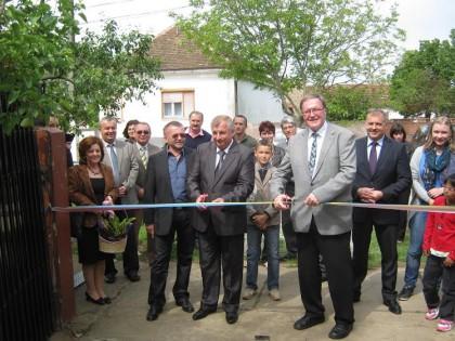 La Zăbrani a fost inaugurat un sediu destinat voluntarilor din partea de vest a ţării