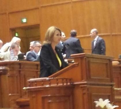 Claudia Boghicevici, ADIO deputăție! Cum a mazilit-o Gheorghe Falcă