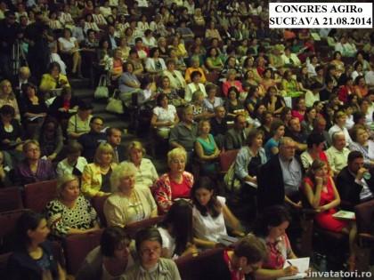 Congresul AGIRo s-a bucurat de participarea a 1500 de cadre didactice din România, Moldova, Ucraina şi Serbia
