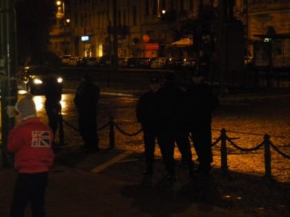 BĂTAIE în centrul Aradului, după anunţarea rezultatului alegerilor! UPDATE – VIDEO