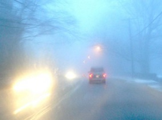 COD GALBEN de ceață în șapte județe