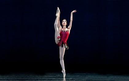Prim-solista Baletului Operei de Stat din Viena, pe scena Teatrului de Vară ETHOS