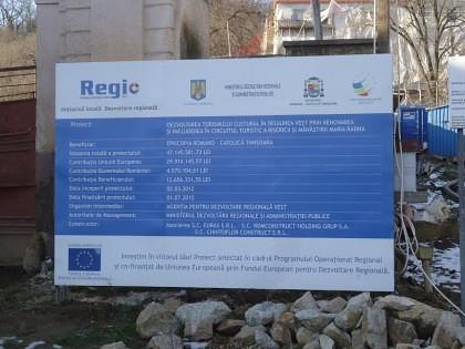 Finanţare europeană BLOCATĂ la Mănăstirea Maria Radna, după o INVESTIGAŢIE de presă
