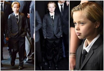 ŞOC la Hollywood! Fetiţa Angelinei Jolie şi a lui Brad Pitt VREA SĂ FIE BĂIAT