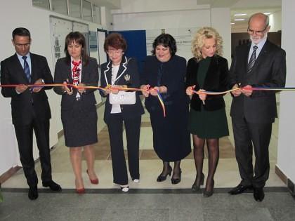 Universitatea Aurel Vlaicu a inaugurat Centrul de Cercetare în Ştiinţe Tehnice şi Naturale