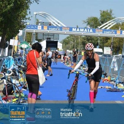 Arădeanca Diana Miazga, un nou succes la triatlon