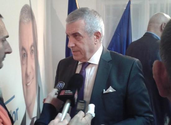 Călin Popescu Tăriceanu, candidatul ALDE la alegerile prezidențiale