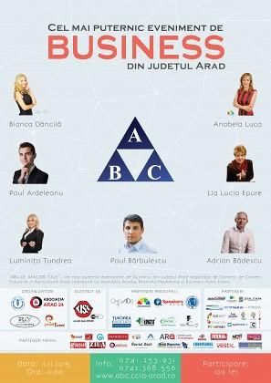 ABC-UL AFACERII TALE, cel mai important eveniment de business din Arad