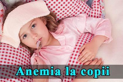 Anemia la copii: cauze şi tratamente naturiste