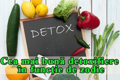 Cea mai bună detoxifiere în funcţie de zodie