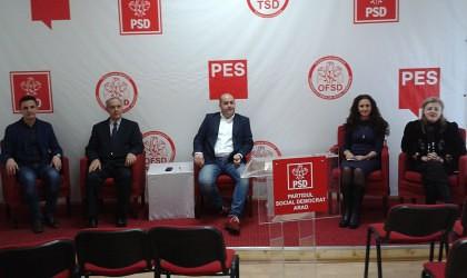 Întâlnire regională la Arad a secretarilor PSD din regiunea 5 Vest