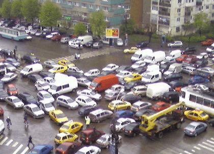 Bucureştiul, pe locul 5 în topul mondial al celor mai mari blocaje rutiere urbane! Întârzieri de 103 ore pe an