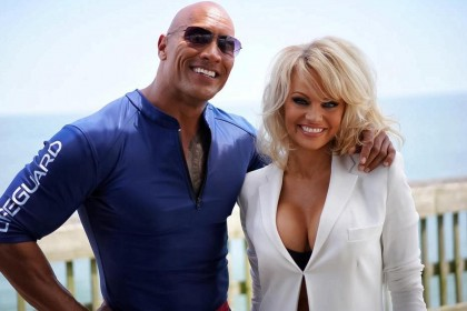 the rock pam anderson