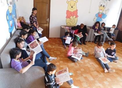 PRIMIM SPRE PUBLICARE/ Eveniment educativ la Centrul de Primire Minori din Arad