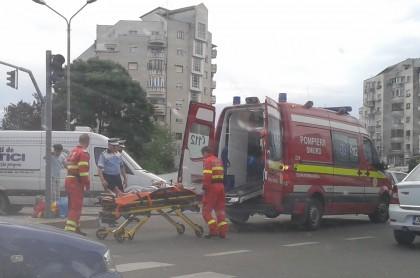 ACCIDENT la Intim! SMURD-ul a intervenit de URGENȚĂ (FOTO)
