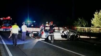 Accident ÎNGROZITOR: Un tânăr şi o tânără ŞI-AU PIERDUT VIAŢA în centrul oraşului (VIDEO)