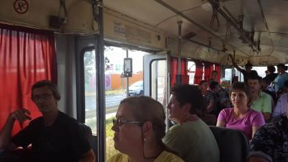 Atentat la sănătatea și integritatea călătorilor! PERICOL confirmat oficial pe TRAMVAIELE din Arad