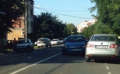 ACCIDENT pe Mărășești, sau ce se întâmplă dacă tai LINIA CONTINUĂ