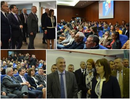 """Vizită IMPORTANTĂ la Universitatea """"Aurel Vlaicu"""". Rectorul Ramona Lile: """"Am fost onoraţi de vizita celor doi distinşi invitaţi"""""""