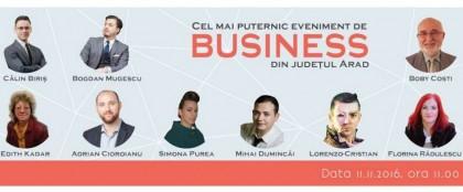"""""""ABC-ul afacerii tale"""" – cel mai puternic eveniment de business din Arad"""