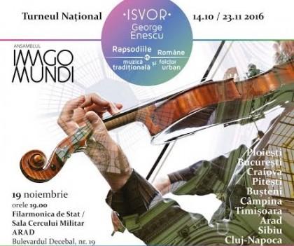 "Concert inedit: ""Isvor. George Enescu"""