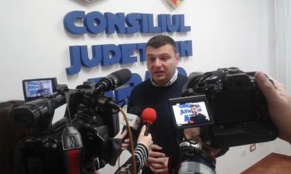 """Sergiu Bîlcea, vicepreşedinte CJ Arad: """"Mingea este la PSD. Aşteptăm finanţarea proiectelor depuse prin Programul Naţional de Dezvoltare Locală"""""""