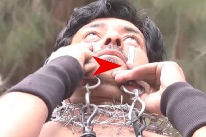 VIDEO/ Omul cu cele mai TARI PLEOAPE din LUME. Vezi ce poate face cu ele
