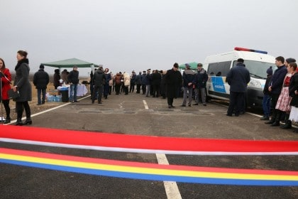 Patru noi puncte de trecere a frontierei au fost inaugurate în județul Arad (GALERIE FOTO)
