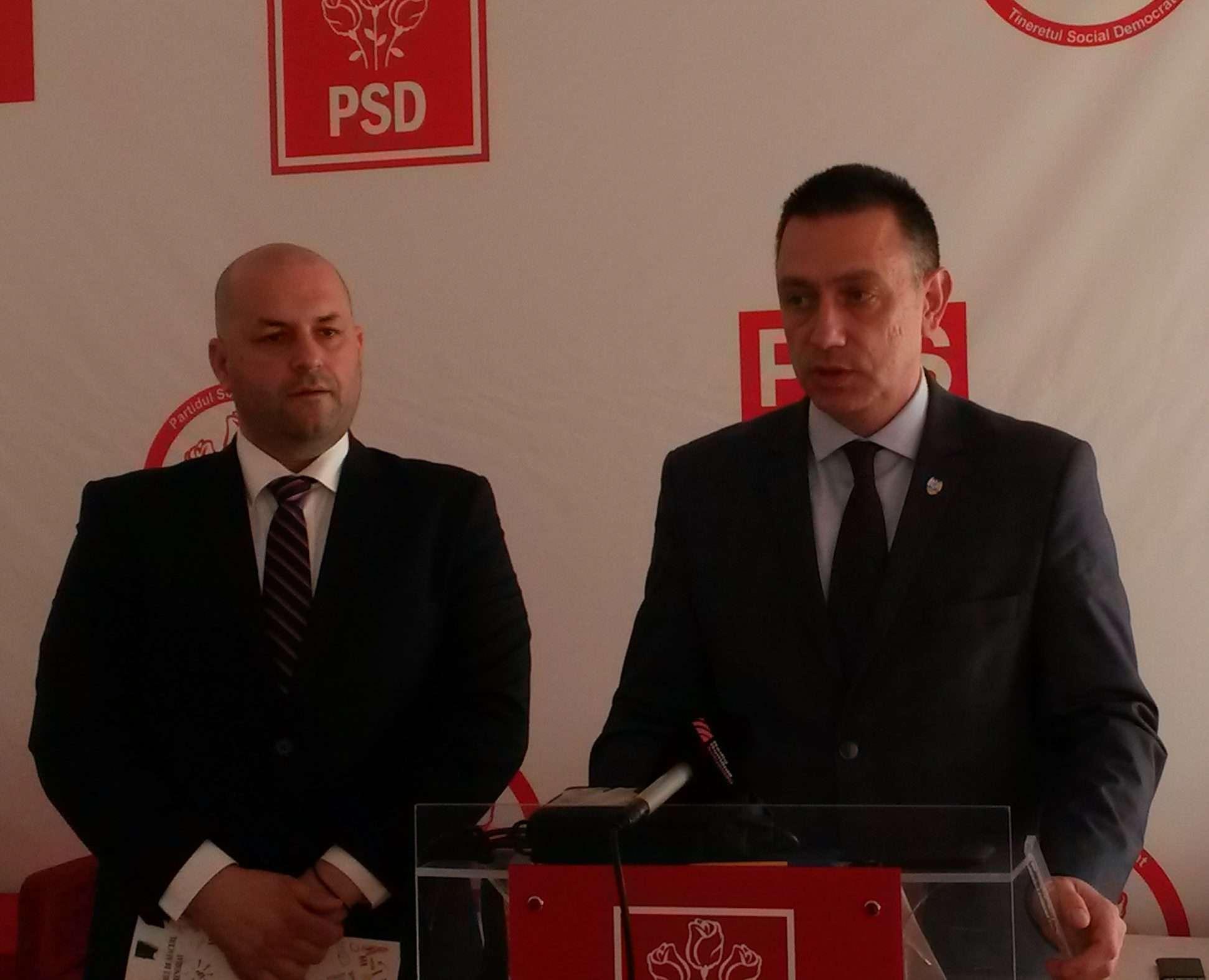 Liderii PSD Arad au replicat ca urmare a declarațiilor lui Victor Ponta