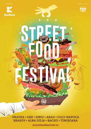 Veste bună pentru gurmanzi! Street FOOD Festival ajunge și în orașul tău!