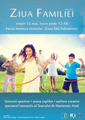 Întreceri sportive, ateliere de creație și multe premii pentru copii și părinți, la Ziua Familiei