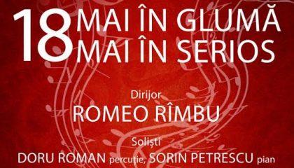 18 mai în glumă, 18 mai în serios – SPECTACOL SIMFONIC oferit de Filarmonica de Stat Arad