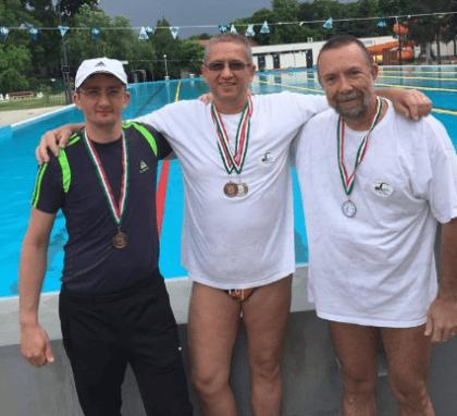 Un nou concurs bifat de înotătorii masters ai CSM Arad