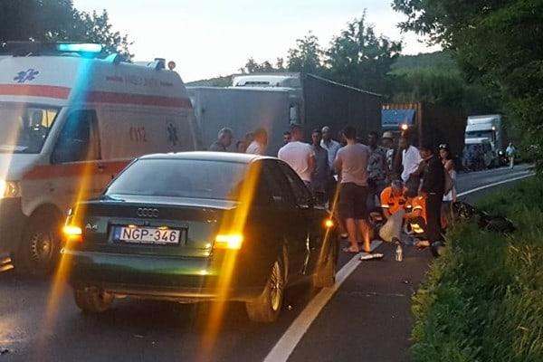 ACCIDENT MORTAL: Un motoclist din Ungaria și-a pierdut viața în vestul țării, pe DN 7