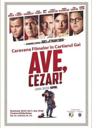 """Arădenii sunt invitați să-i urmărească pe George Clooney și pe Scarlett Johansson în """"Ave, Cezar!"""""""