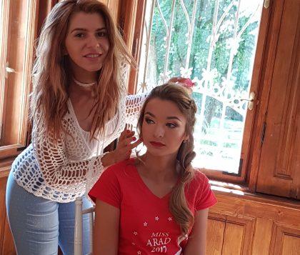 Concurentele se pregătesc pentru finala Miss Arad 2017 (FOTO)