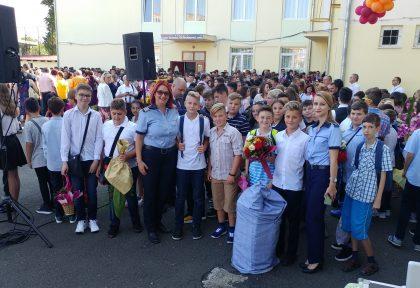 IPJ Arad a fost alături de școlari în această dimineață. Vezi mesajul transmis de șeful Poliției Române (GALERIE FOTO)