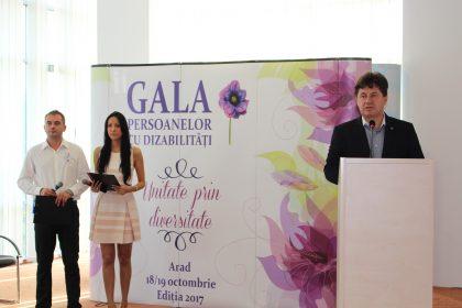 Gala persoanelor cu dizabilități, organizată în premieră la Arad