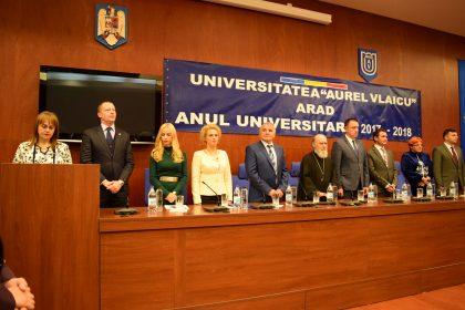 Universitatea Aurel Vlaicu a deschis anul academic 2017 – 2018
