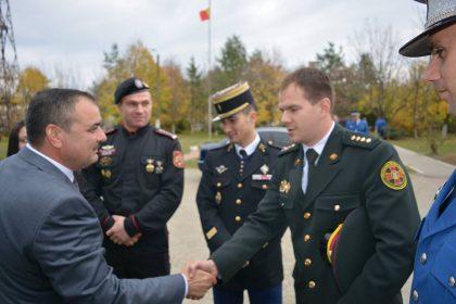 Vizită importantă la Inspectoratul de Jandarmi Județean Arad