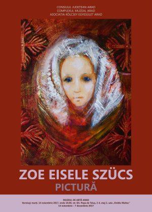 Rezultatul a 50 DE ANI de creație, la Muzeul de Artă Arad! Expoziția artistei Zoe Eisele Szücs reunește lucrări de pictură și, ÎN PREMIERĂ, de grafică