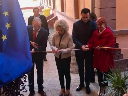 Investiţie a administraţiei locale la şcoala primară din Pâncota: A fost inaugurat un nou corp de clădire (FOTO)
