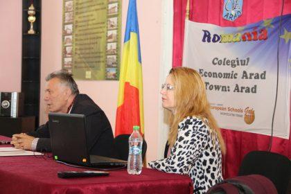"""Universitatea de Vest """"Vasile Goldiş"""" din Arad și-a prezentat oferta educațională la Colegiul Economic Arad"""