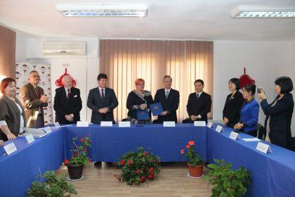 Primul Centru de Medicină Tradiţională Chineză din România, deschis la Arad, de UVVG şi Universitatea de Medicină Chineză din Zhejiang